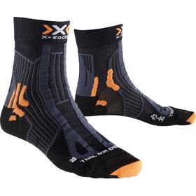 X-Socks Trail Run Energy Calze Uomo, black/anthracite